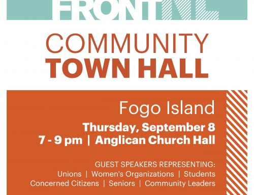 Town Hall On Fogo Island September 8 2016