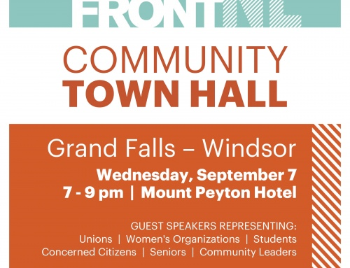 Town Hall In Grand Falls Windsor September 7 2016